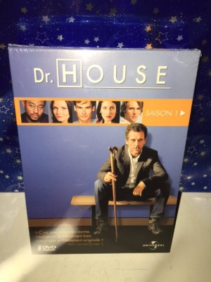 Coffret saison 1 Dr House neuf sous emballage d'origine