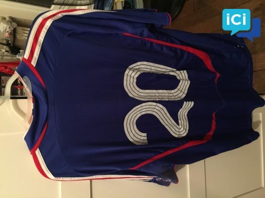 Tee-shirt équipe de France -coupe du monde 98