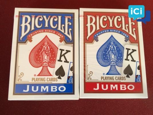 """Cartes Bicycle """"JUMBO"""""""