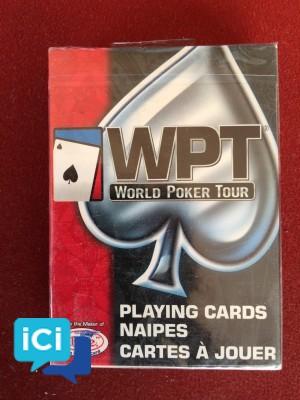 Cartes WPT Paquet rouge neuve