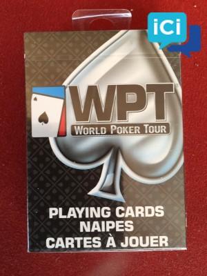 Cartes WPT Paquet noir neuve
