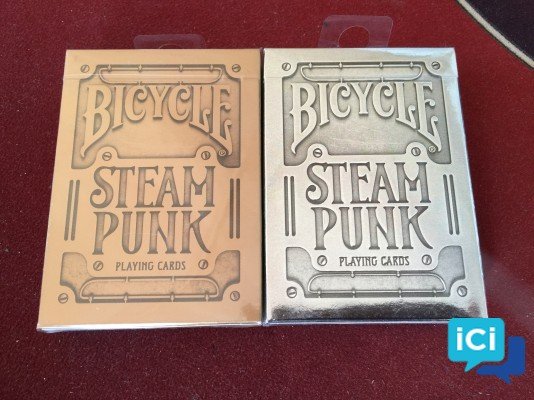Lot cartes collector Bicycle - STEAM PUNK