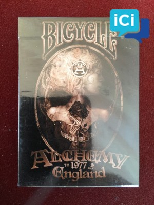 """Jeu de carte Bicycle collector """"ALCHEMY 1977"""""""
