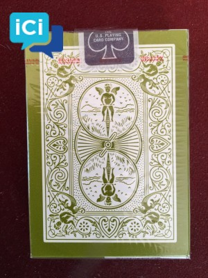 "Jeu de cartes Collector BICYCLE- ""RIDER BLACK"""