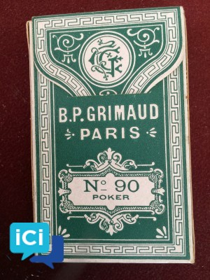 Jeu de cartes Collector GRIMAUD