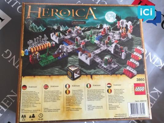 """Lego Heroica """"Fortaan Le Chateau Assiégé"""""""