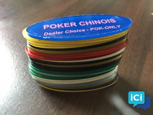 "Boutons Poker ""DEALER CHOICE"" 22 Jeux - Marque Pok-Only lot n°1"