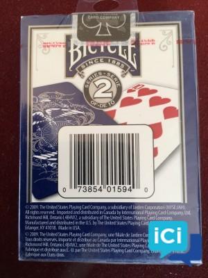 "Lot cartes collector BICYCLE ""Edition Limitée série n°2"""