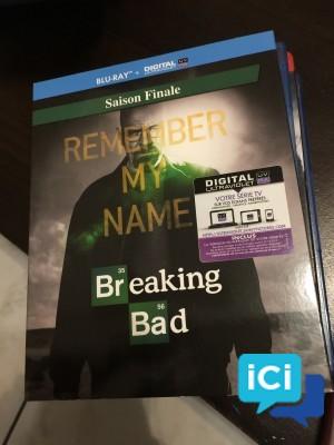 Saison Finale BREAKING BAD Bluray