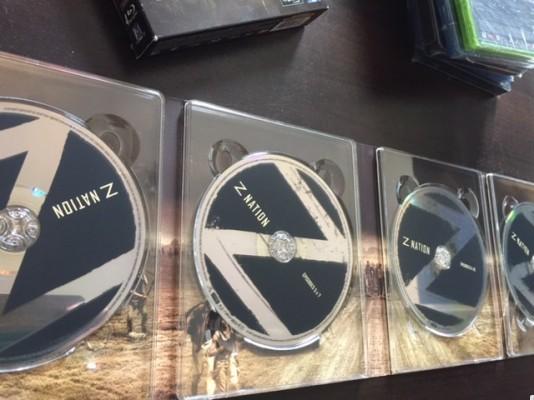 Coffret Bluray Z NATION Saison 1 - comme neuf