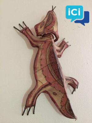 Décoration murale : Salamandre