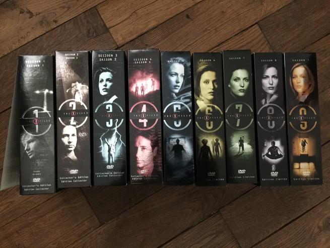 L'intégrale X-FILES - Saisons 1 à 9 en Coffrets DVD