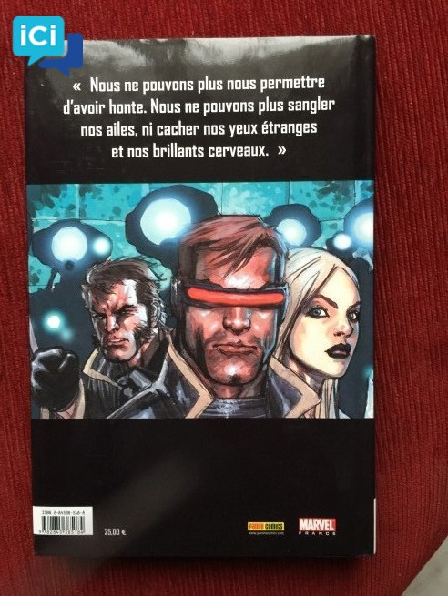Livre X-men tome 1