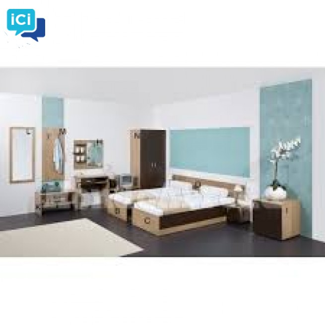 TIROL - Mobilier chambre d'hôtel double