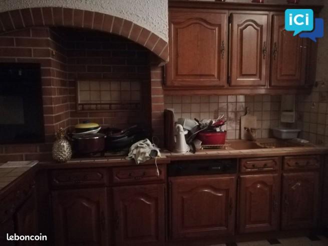 meubles éléments cuisine rustique