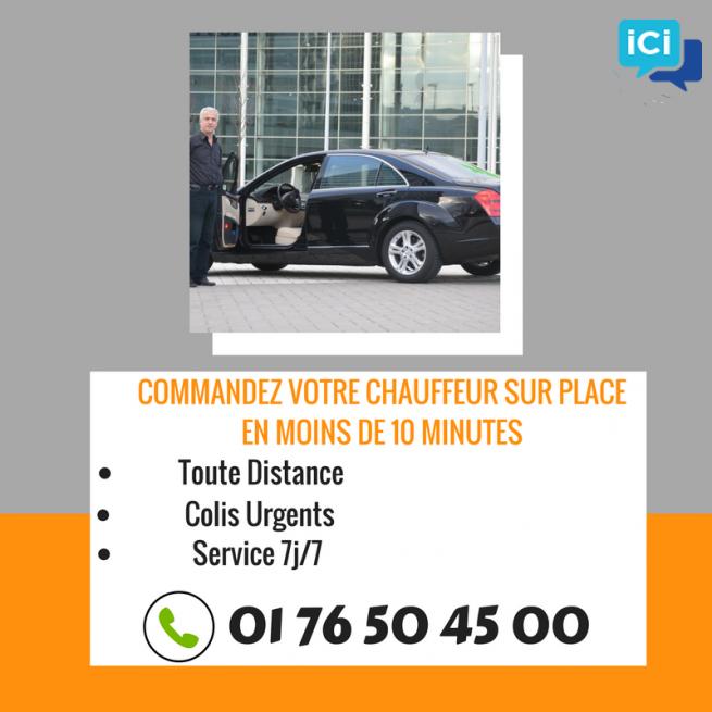 VTC - Chauffeur privé - Montreuil