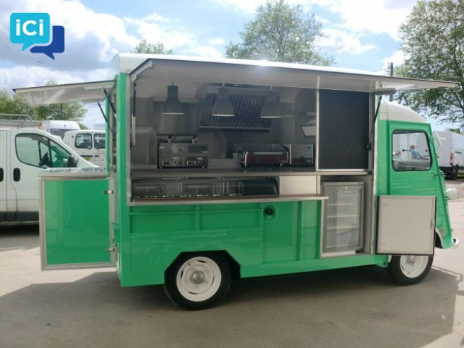 CAMION FOOD TRUCK HY CITROEN ( 3700€ )