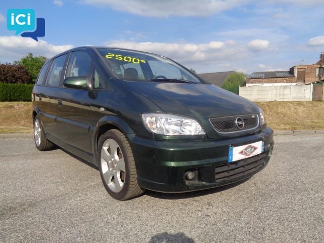 Opel zafira 1,8l 16v 125cv edition