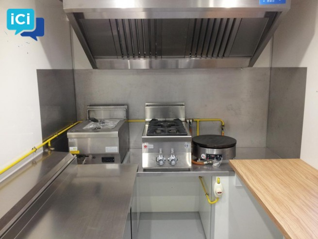 Camion Pizza  foodtruck snack/creperie Renault Master