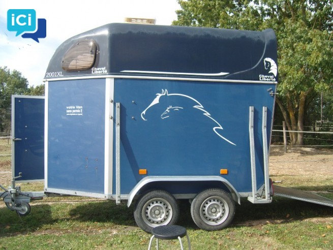 VAN cheval liberté 1,5 places sans permis E