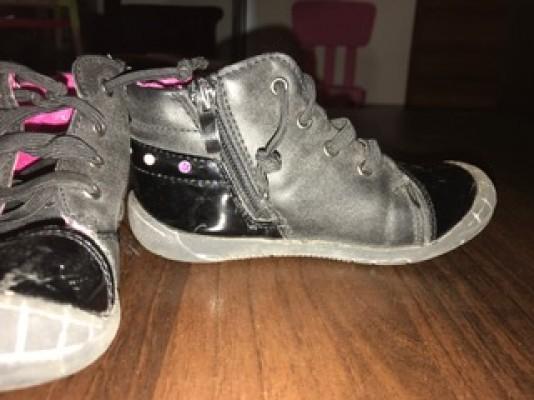 Chaussures petite fille noir