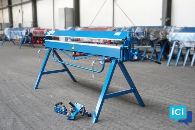 Plieuse manuelle de tôle, plieuse pour toiture, modele ZGR 2140/0,8mm