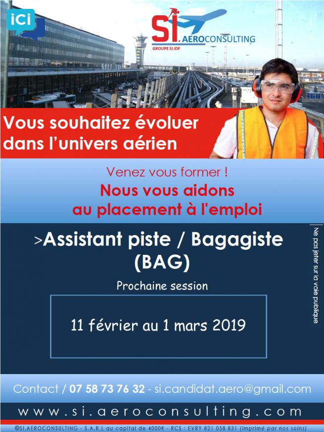 DEVENEZ AGENT DE PISTE/BAGAGISTE (BAG)