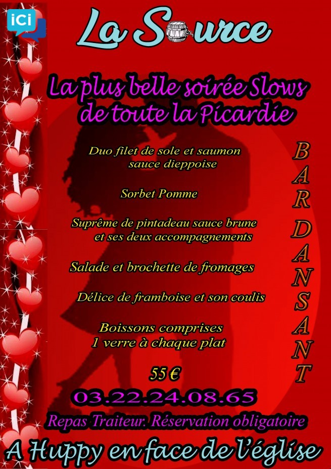 La Saint-Valentin à La Source !