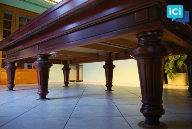 BILLARD FRANÇAIS «TOULET» Louis XVI Prestige 6 pieds