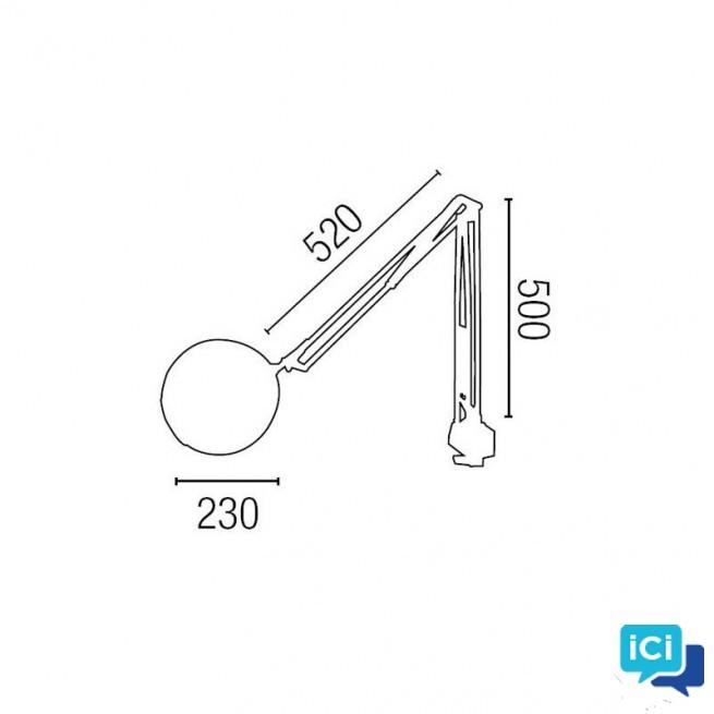 Lampe loupe total.métal . blanc (10)