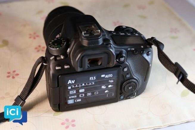 Canon EOS 80D + Objectif 18-135mm