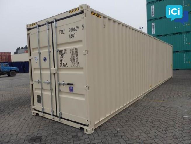 vente de conteneurs maritimes 20' et 40'