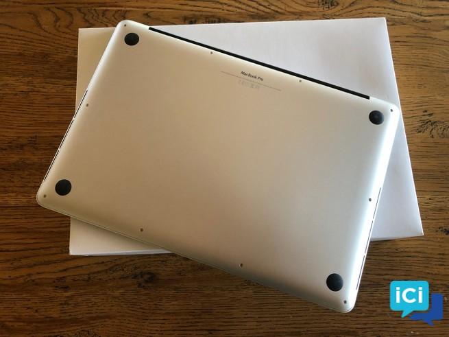 MacBook Pro (Retina, 15 pouces, mi-2015)