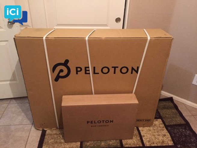 BRAND NEW PELOTON BIKE.