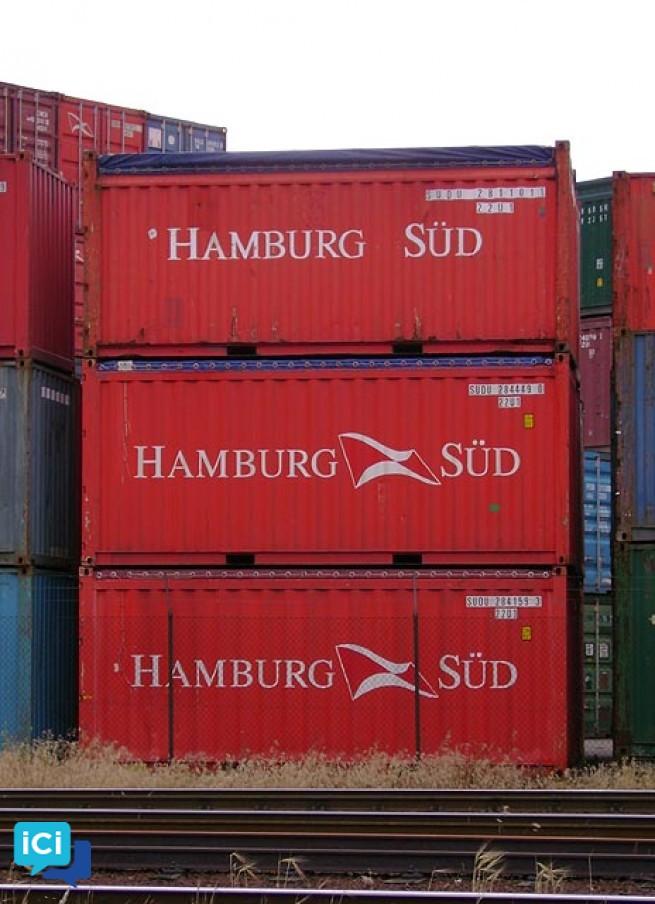 Containers maritimes de 2m à 13,70m
