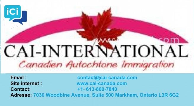 RECRUTEMENT H/F POUR POSTES ADMINISTRATIFS CHEZ CAI-CANADA
