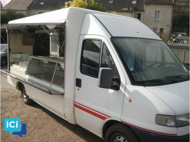 CITROEN Jumper magasin snack friterie
