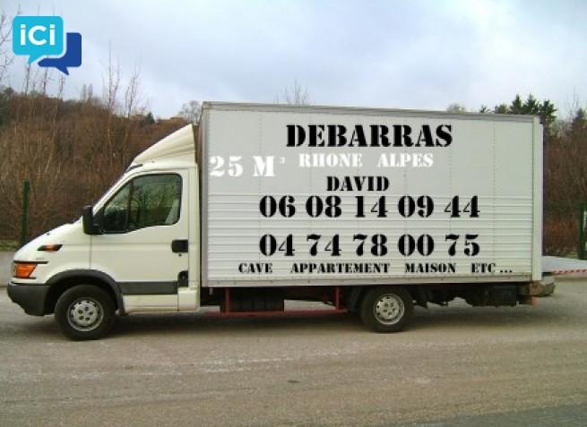 Débarras appartement Lyon gratuit Tel : 06 08 14 09 44  David  Entreprise de débarras Lyon gratuit Tel : 06 08 14 09 44 David