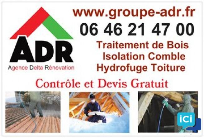 Réparation de fuite sur toiture