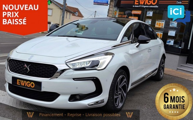 DS5 2.0 BLUE HDI 180 CV S&S SPORT CHIC EAT 6
