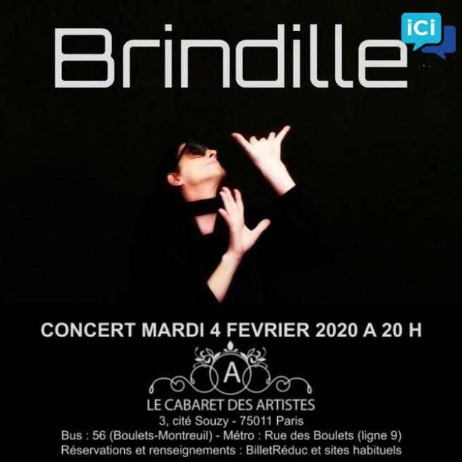 Brindille en Concert au Cabaret des Artistes - Artishow Cabaret
