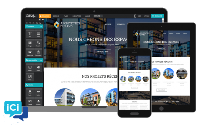 conception de sites web