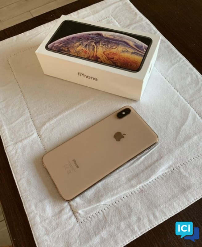 IPhone XS MAX 64gb Gold comme neuf