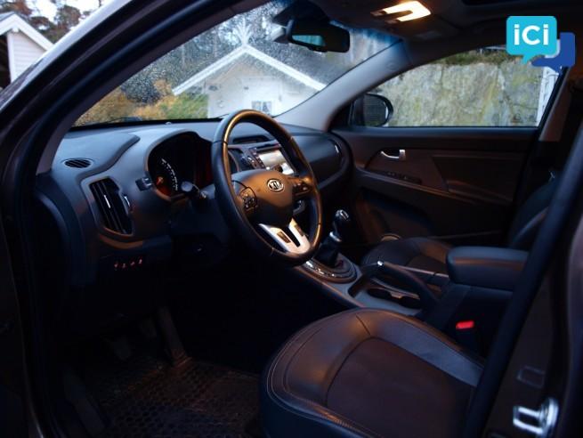 Kia Sportage 2,0 CRDi 4WD 136 HK Spirit/Exclusive