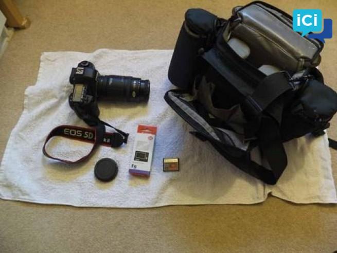 Appareil photo Canon.