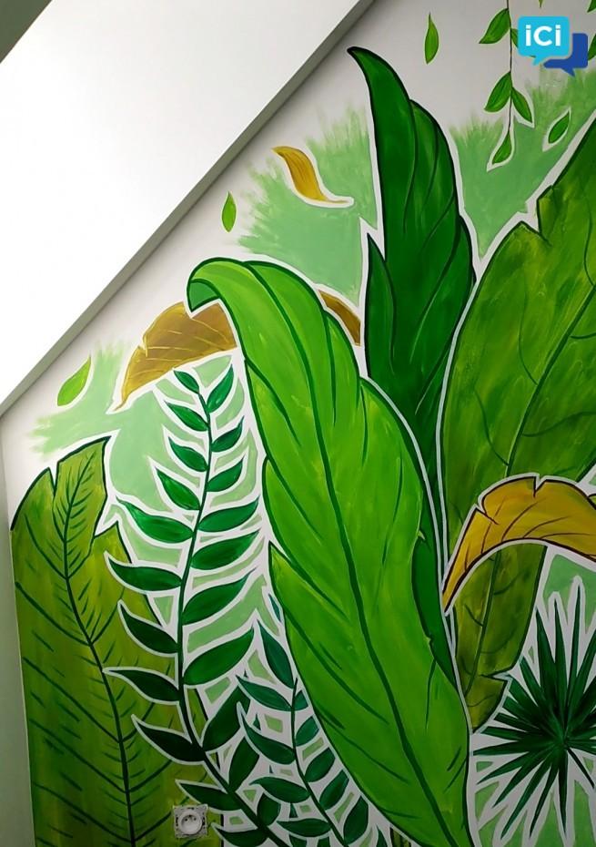 Une fresque dans votre maison