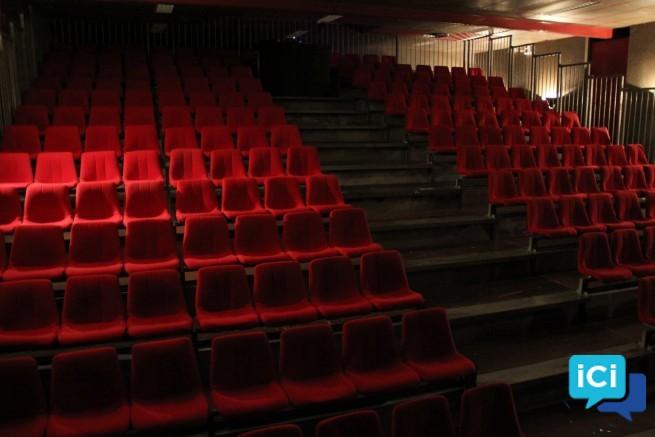 Ensemble de fauteuils de théâtre