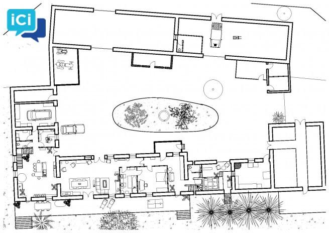 Fermette rénové + 900 m2 pour professionnel