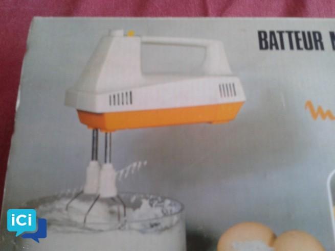 batteur de cuisine électrique