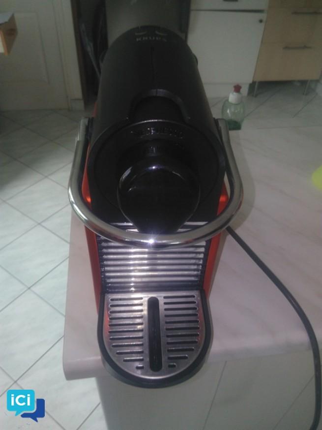 Nespresso Krups PIXIE Rouge électrique
